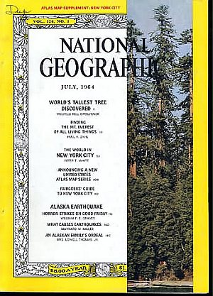 National Geographic July 1964
