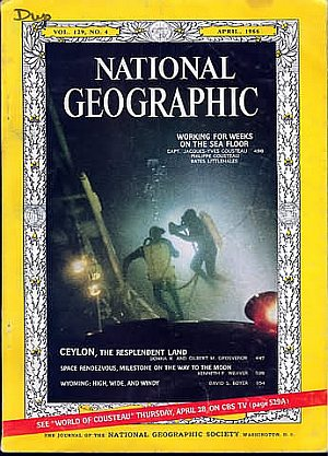 National Geographic April 1966