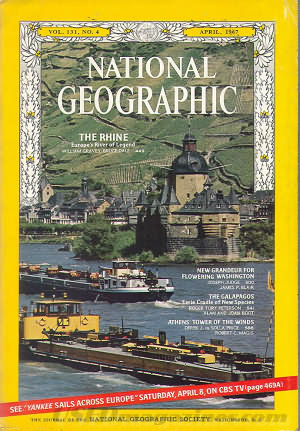 National Geographic April 1967