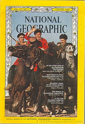 National Geographic January 1968