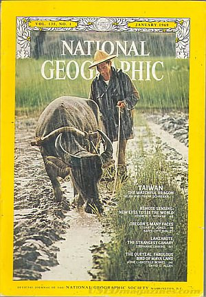 National Geographic January 1969