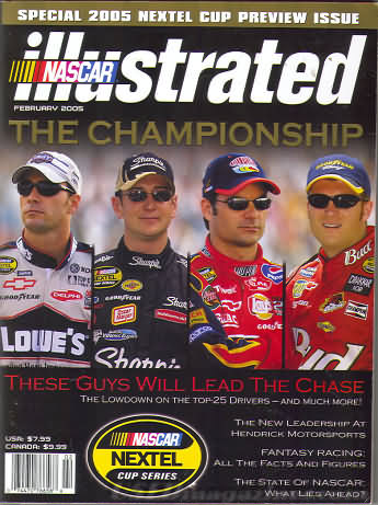 NASCAR Illustrated February 2005