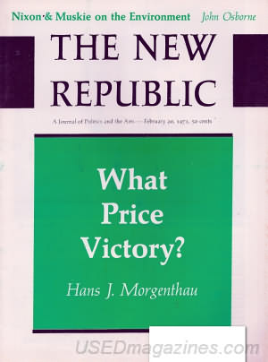 The New Republic February 20, 1971