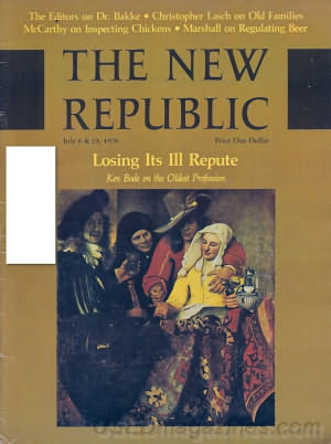 The New Republic July 08/15 1978