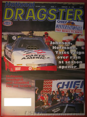 National Dragster (NHRA) February 16, 1996