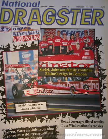 National Dragster (NHRA) February 14, 1997