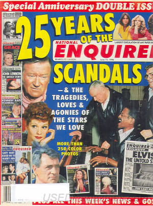 National Enquirer June 11, 1996
