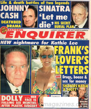 National Enquirer November 18, 1997