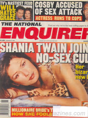 National Enquirer March 14, 2000
