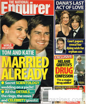 National Enquirer March 27, 2006