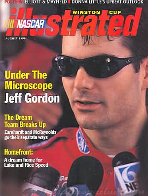NASCAR Winston Cup Illustrated August 1998