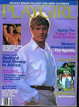 Playgirl January 1986
