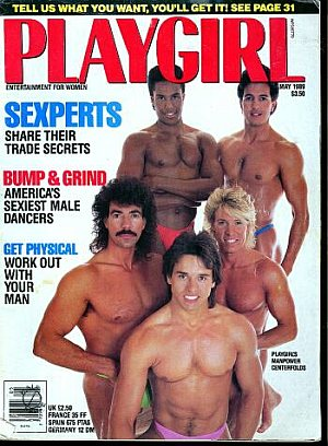 Playgirl May 1989