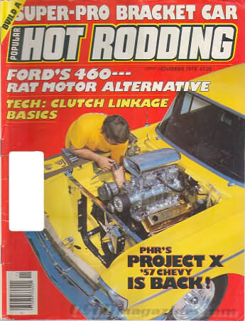 Popular Hot Rodding November 1978