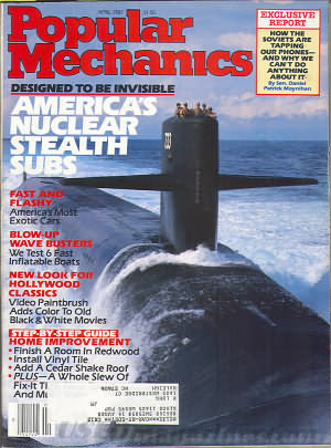Popular Mechanics April 1987