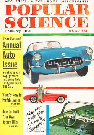 Popular Science February 1956