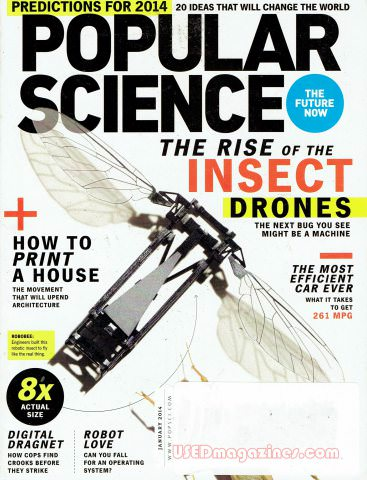 Popular Science January 2014
