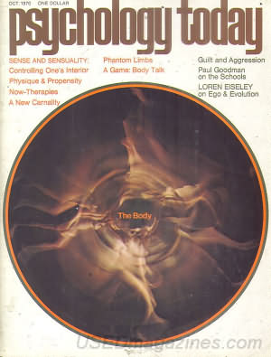 Psychology Today October 1970