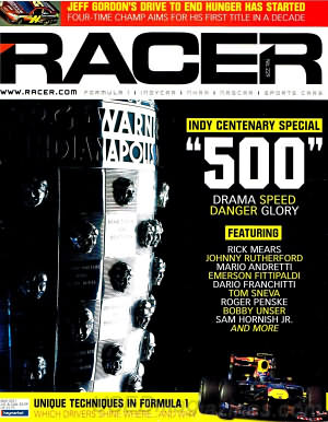 Racer May 2011