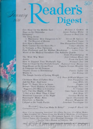 Reader's Digest January 1970