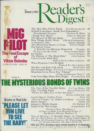 Reader's Digest January 1980