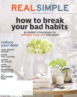 Real Simple January 2012