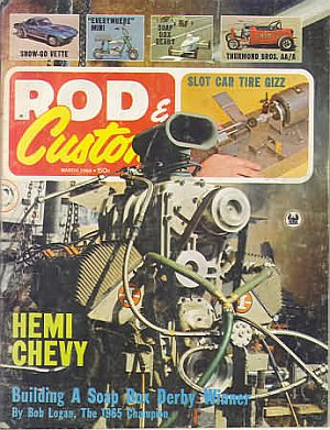 Rod & Custom March 1966