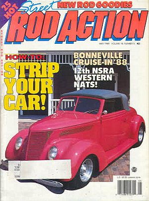 Rod Action May 1989