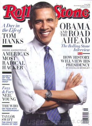 Rolling Stone November 08, 2012