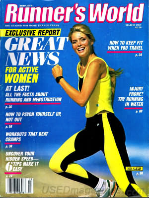Runner's World March 1987