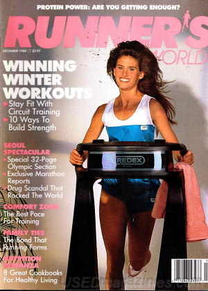 Runner's World December 1988