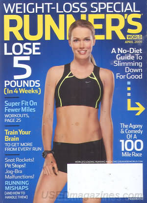 Runner's World April 2009