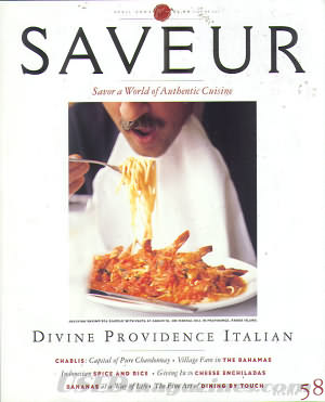 Saveur April 2002