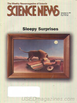 Science News September 25, 1999