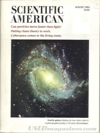 Scientific American August 1993