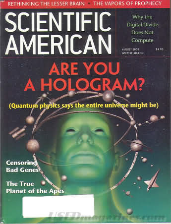 Scientific American August 2003