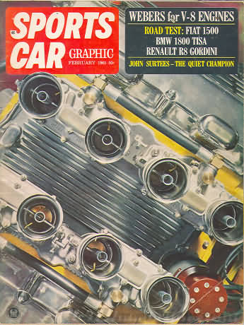 Sports Car Graphic February 1965