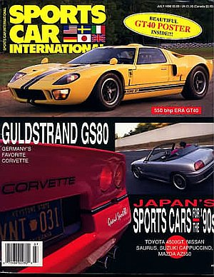 Sports Car International July 1990