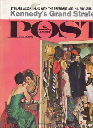 Saturday Evening Post March 31, 1962