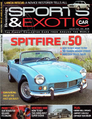 Sports & Exotic Car August 2012