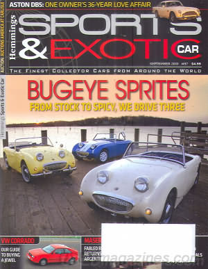 Sports & Exotic Car September 2013