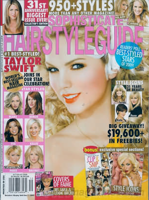 Sophisticate's Hairstyle Guide November/December 2009