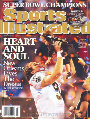 Sports Illustrated February 15, 2010