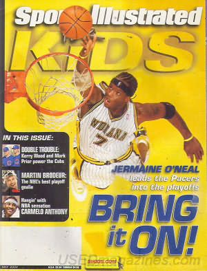 Sports Illustrated Kids May 2004
