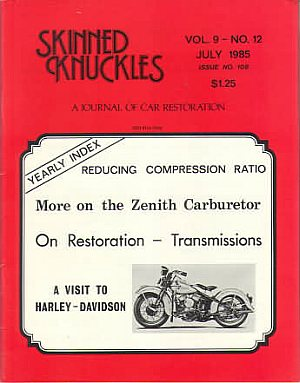Skinned Knuckles July 1985