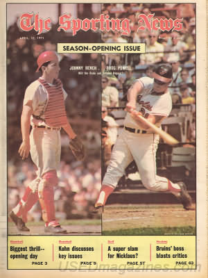 The Sporting News April 10, 1971