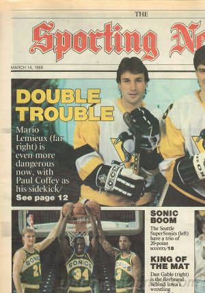 Sporting News March 14, 1988