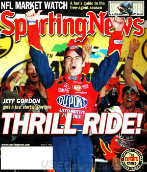 Sporting News March 4, 2005