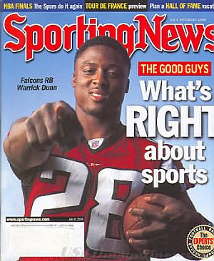 Sporting News July 8, 2005