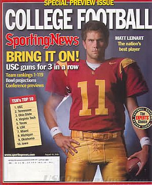 Sporting News August 19, 2005